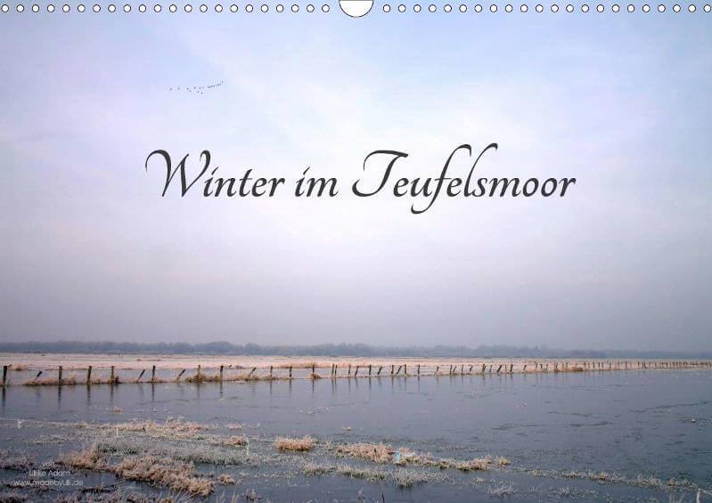 Wandkalender - Winter im Teufelsmoor