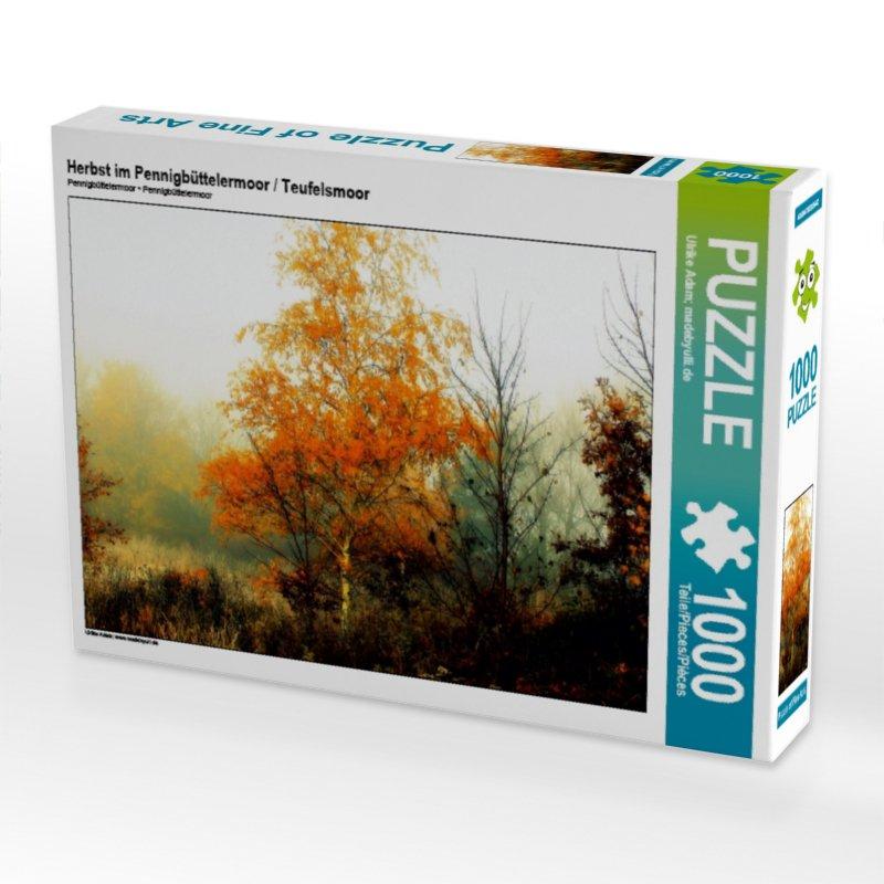 Herbst im Pennigbüttelermoor - Teufelsmoor (Puzzle)