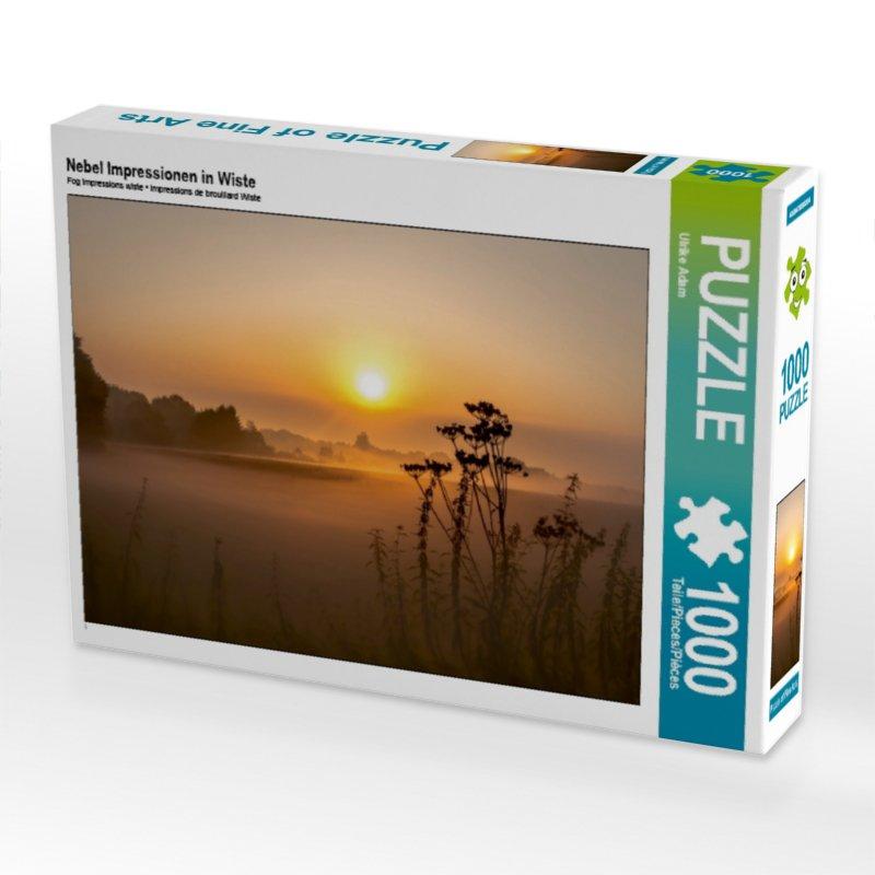 Nebel Impressionen in Wiste (Puzzle)