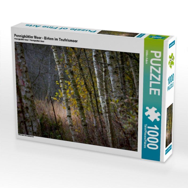 Pennigbüttler Moor - Birken im Teufelsmoor (Puzzle)