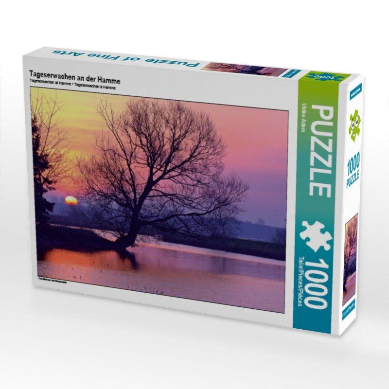 Tageserwachen an der Hamme (Puzzle)